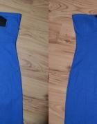 sukienka New Yorker bandage tuba S niebieska zip