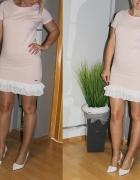 sukienka puder