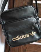Torba adidas czarna złota sportowa