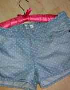 Spodenki jeansowe groszki Reserved...