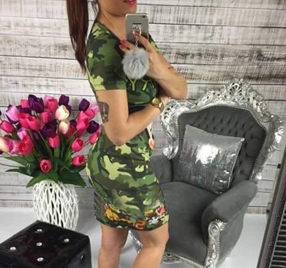 SUKIENKA MORO MYSZKA MIKI ROZM XL w Suknie i sukienki Szafa.pl