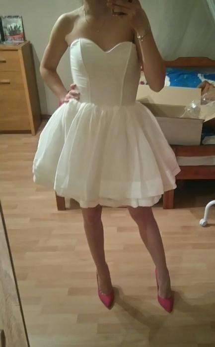 lou zoe sukienka rozkloszowana S