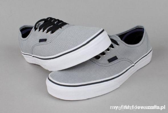 oryginalne szare buty vans 39 limited edition w Trampki