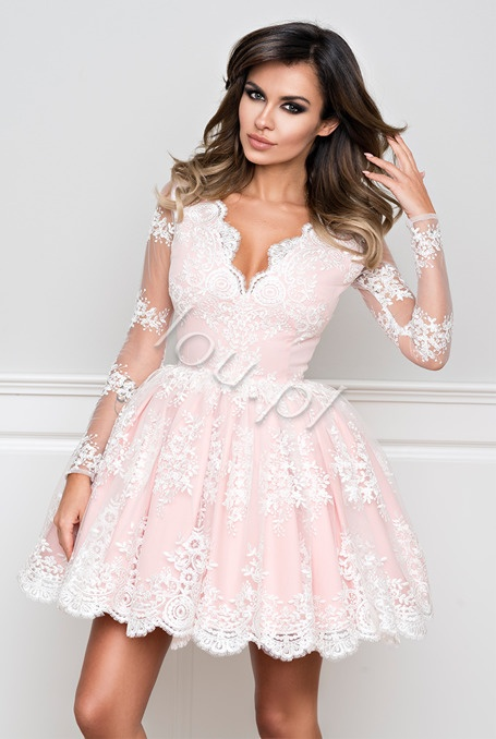 Sukienka firmy LOU koronkowa