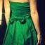 zielona rozkloszowana