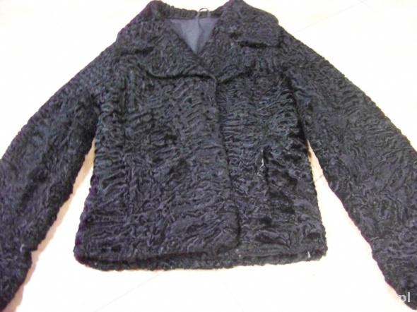 dbc1fbf252ad4 kurtka futro futerko naturalne karakuły idealne w Odzież wierzchnia ...