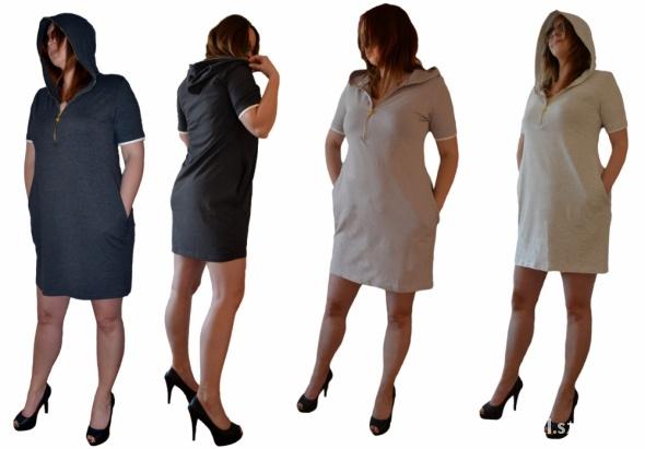 Suknie i sukienki POLSKA DRESOWA tuba ZAMEKKAPOCA kolory SM LXL