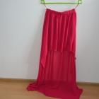 asymetryczna spódnica neonowa fuksja