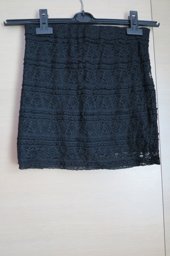 Spódnice Koronkowa czarna spódniczka H&M