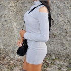 sukienka z golfem