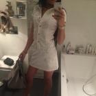 Biała Jeasnowa Sukienka