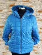 Pikowana modna kurtka L