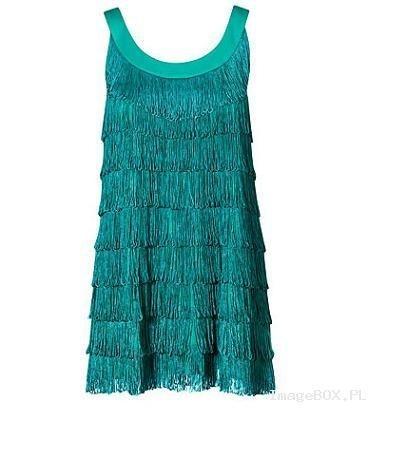 Sukienka frędzle H&M...