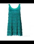 Sukienka frędzle H&M