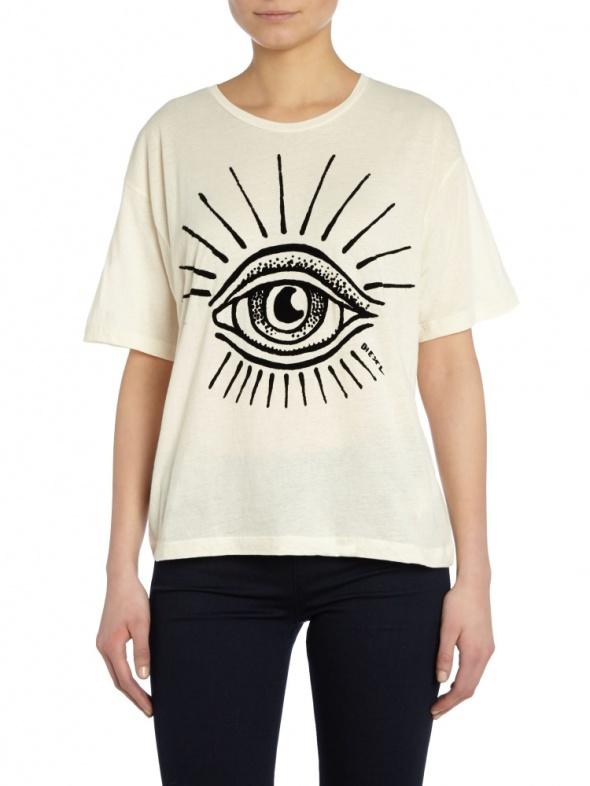 Diesel T Rachel E Eye T Shirt...