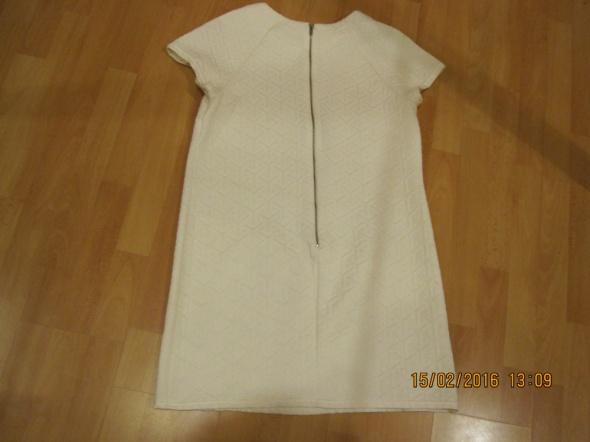 Suknie i sukienki Sukienka tunika biała 40 42