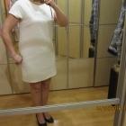Sukienka tunika biała 40 42