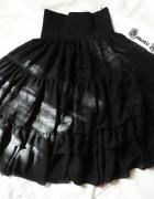 Lady Sloth czarna spódnica gothic lolita
