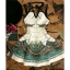 Stylish Round Neck Sleeveless Animal Print Dress