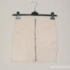 spódnica HM zip pudrowy róż