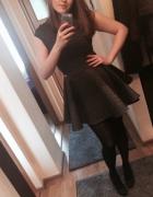 S Moriss rozkloszowana sukienka
