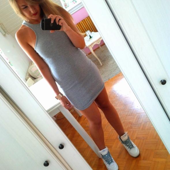 Mój styl sportowa sukienka