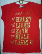 T shirt One Direction Xmas List...