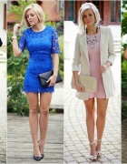 Cztery eleganckie Fashion sukienki