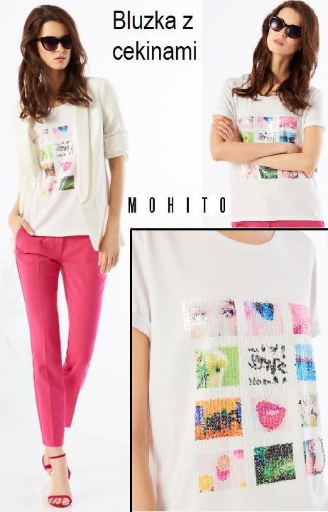 Słodka bluzka MOHITO