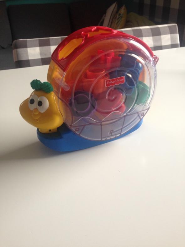 Zabawki Fisher Price ślimak