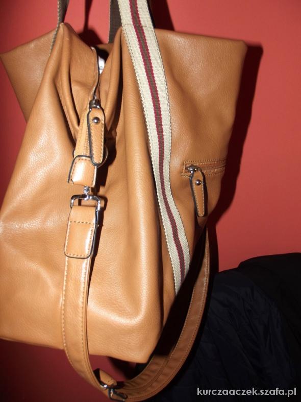 Shopper bag kufer torba duża David Jones