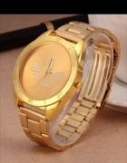 złoty zegarek Adidasa