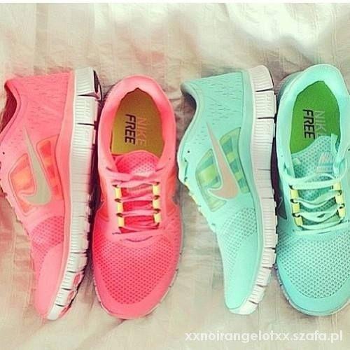 Obuwie Nike free run 3 koralowe lub miętowe