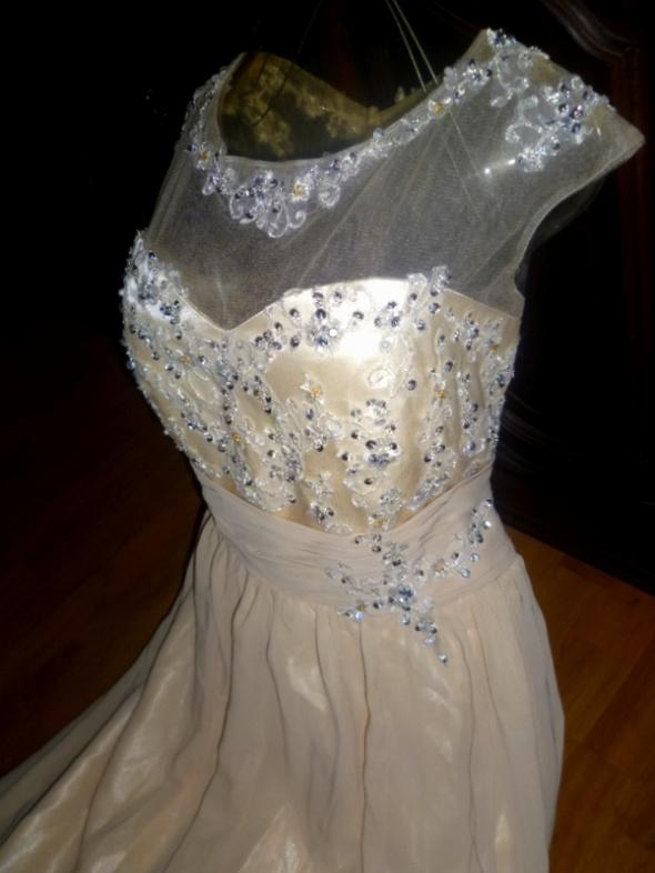 c3b0925fc5 Grace Karin wytworna wieczorowa wesele 44 46 w Suknie i sukienki ...