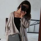 duży sweter torebka Kors