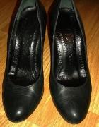 szpilki damskie ryłko czarne 37 eleganckie