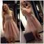 Sukienka tiulowa pudrowy róż MOHITO r 36