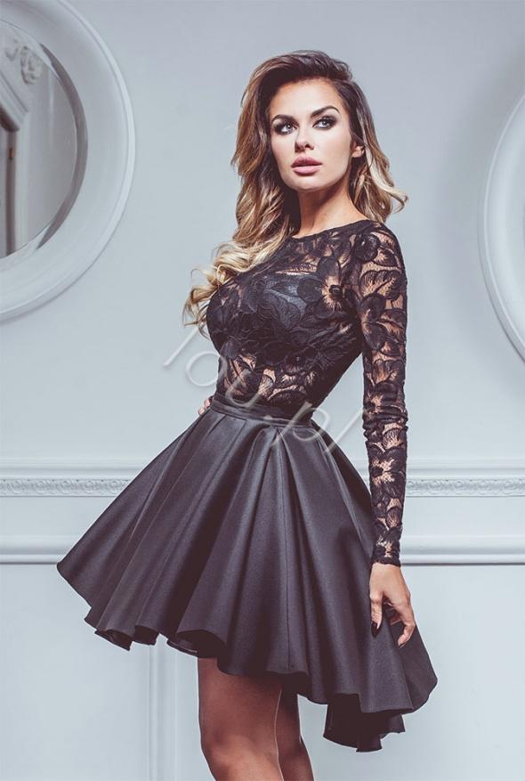 5c11e28343 Sukienka Lou Sedutta koronkowa czarna M w Suknie i sukienki - Szafa.pl