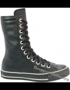 Converse Chuck Taylor All Star 1L793 Black Leather...