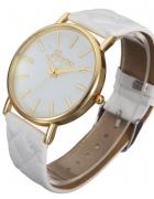 Zegarek Pikowany Biały