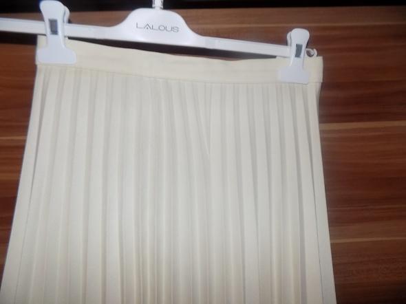 Spódnice Plisowana spódnica ecru