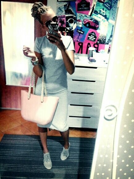 Mój styl bawełniana sukieneczka