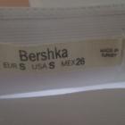 Bershka spódniczka biała mini