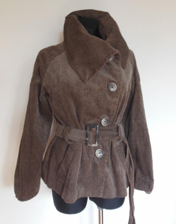Principles brązowa kurtka płaszczyk 44
