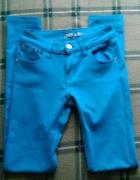 błękitne smerfowe rurki