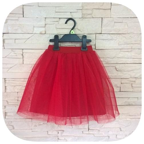 c693f6034a Spódniczka tiulowa TUTU czerwona dla dziewczynki w Sukienki i ...