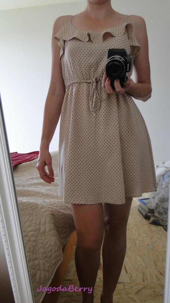 Codzienne Zwiewna sukienka