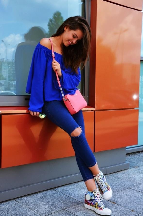 Codzienne High waist jeans