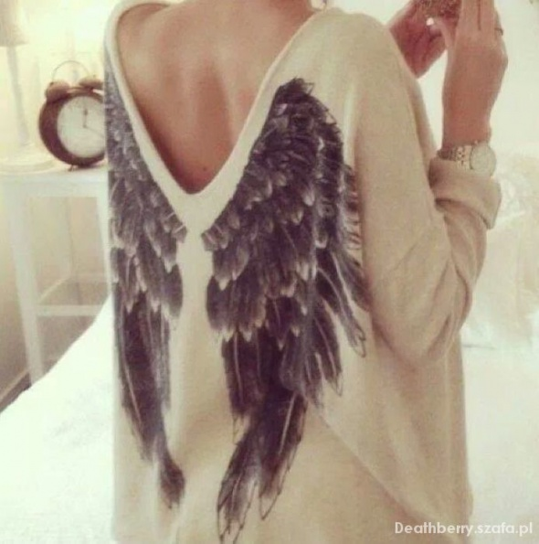 Ubrania Sweter skrzydla kappahl