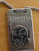 Naszyjnik z logo The Exploited